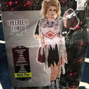 Zombie 🧟♀️ cheerleader costume